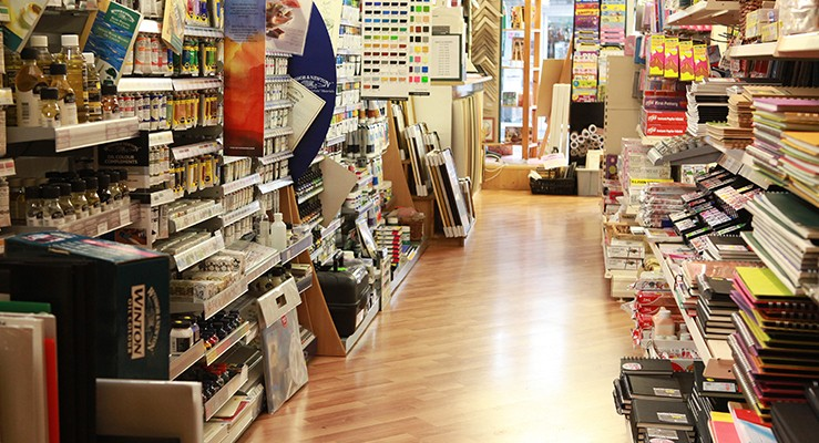 Tim's Art Supplies - An Aladdins Cave of art and craft treasures